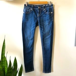 Miss Me mid rise ankle skinny jeans